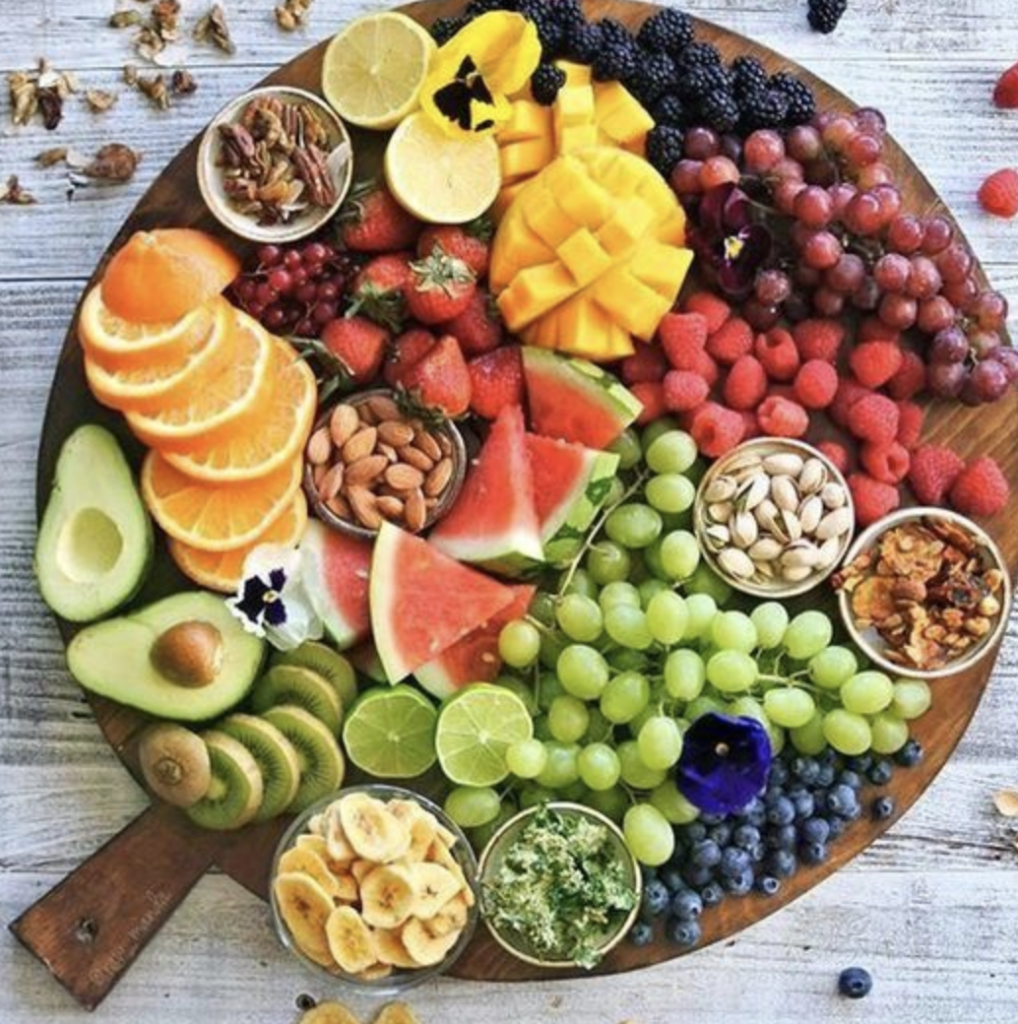 Chinese New Year Fruit Platters