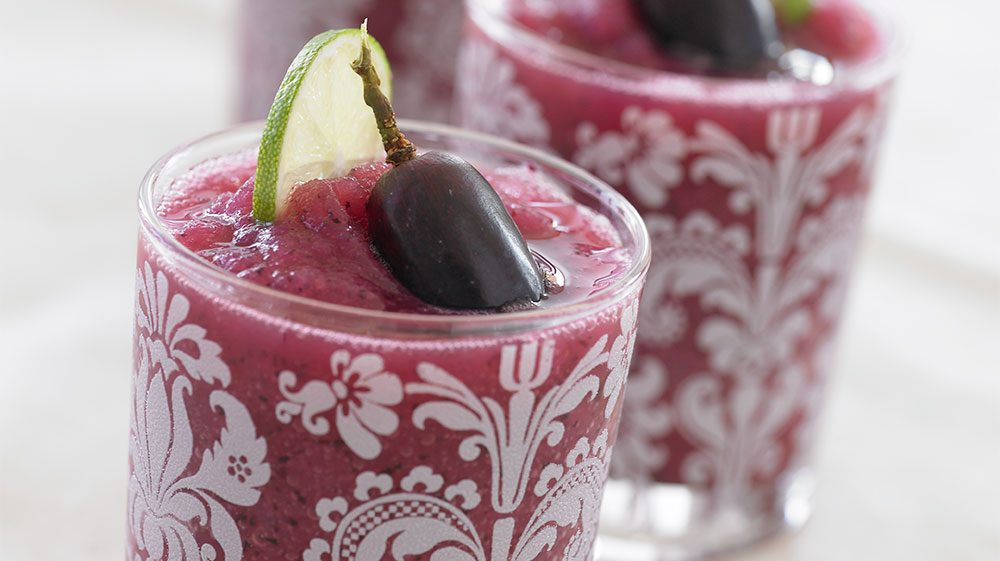 Black Grape Margaritas